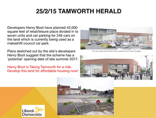 Tamworth Henry Boot Dev