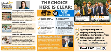 Lichfield GE 2019 - Second Leaflet via RM